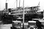 Steamship at Clyde Line Docks, 1925 B
