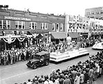 Governor's Inaugural Parade, Fort Myers, 1949