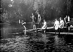 People on Diving Platform, De Leon Springs, 189-