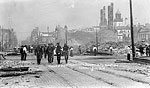 Corner of Bay and Main Streets After the Fire of 1901, Jacksonville