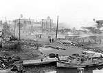 Devastation at the Waterfront Caused by Fire, Tampa, 1919